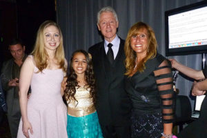 Photo: Bill Clinton requested to meet Jazz. Yup, she's that fierce! (GLAAD)