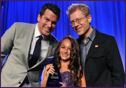Jazz Receives Prestigious Colin Higgins Youth Courage Award
