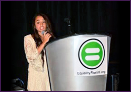 Transgender Teen Speaks at Equality Florida: 2014 Gala