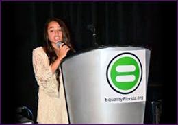 Transgender Teen Speaks at Equality Florida: 2014 Gala